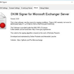 Настройка DKIM в MS Exchange Server 2010/2013/2016