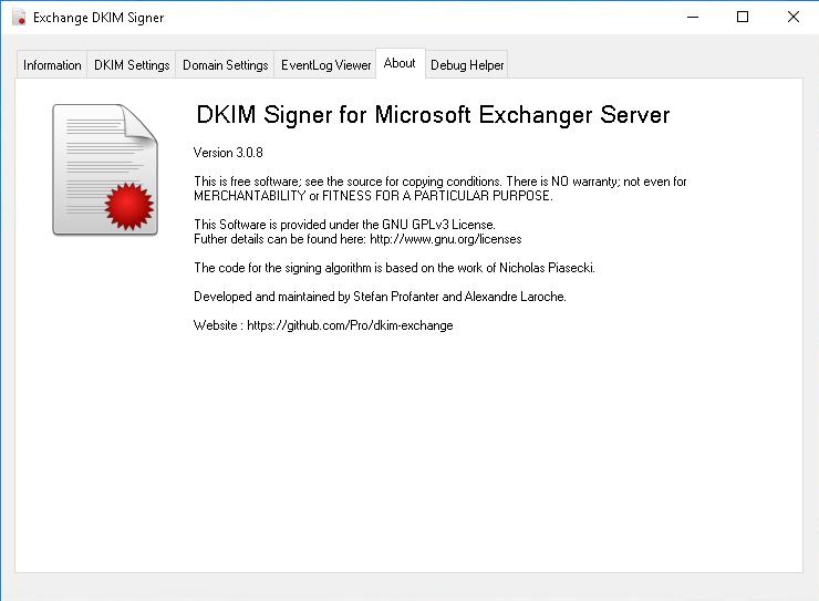 Настройка dkim exchange бесплатно раскрутка и продвижение сайтов